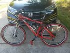 Giant NRS XTC Full Suspension Mountain Bike, Medium 26