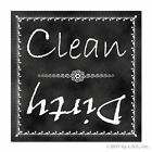 Clean Dirty Dishwasher Indicator Quality Magnet Great Gift Classroom Style New