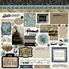 Old World Travel Cardstock Stickers 12X12