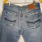 LUCKY BRAND Vintage Jeans Distressed Mens Size 29 x 33 Gunner Relaxed Bootcut