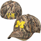 Michigan Wolverines Top of the World Blades Memory Fit Flex Hat Camo NCAA
