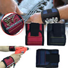 3 Grid Magnetic Wristband Pocket Tool Pouch Bag Holding Working Helper Gadget