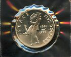 Lot of 5 Marshall Islands Silver $5 Commemorative Coins #106152 R