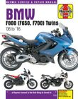 BMW F800 and F650 Twins Haynes 4872 Repair Manual for 2006 thru 2010