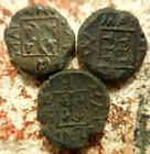 Lot of 3 Coins of: Maroneia, Thrace. 400-350 BC. Horse prancing right, Grapes
