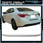 Fits 14 17 Toyota Corolla OE Style Trunk Spoiler Painted Classic Silver Metallic