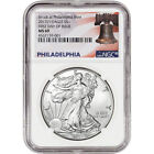 2017 P American Silver Eagle NGC MS69 First Day Issue Liberty Bell Label