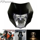 Motorcycle Headlight Dirt Bike Head Lamp Fairing For KTM EXC MXC LC4 520 525 450
