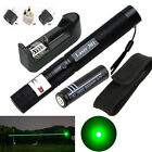10 Miles Green 1mW 532nm Laser Pointer Pen + 18650 Battery + Charger + Holster