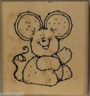 Hooks Lines  Inkers Rubber Stamp Smiling Mouse