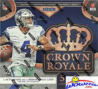 2016 Panini Crown Royale NFL Football EXCLUSIVE Factory Sealed Retail Box with T