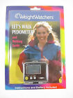 Weight Watchers Lets Walk Pedometer Stop Watch  Walking Guide NEW
