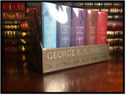 A Game of Thrones by George R.R. Martin Sealed Leather Cloth 5 Volume Box Set