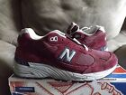 New Balance 991CO Connoisseur Painters Mens Shoes Size 75 Burgundy USA NEW
