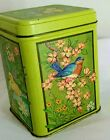 Vintage Hallmark collectors tin 5 animals duck bunny squirrel bird butterflies
