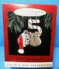 Hallmark Childs Fifth Christmas Ornament Dated 1995