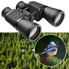 Wide Angle 10x50mm HD Binoculars Telescope Waterproof Travel Birdwatching w Bag