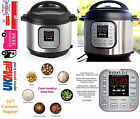 NEW Instant Pot Duo V2 8 Litre, 7-in-1 Electric Pressure Cooker Steel/Black