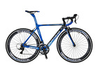 700C Road Bike 18 speed Full Carbon Fiber Frame Road Racing Bikes Bicycle 50cm