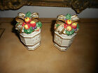 RITZ AND FLOYD RETIRED SNOWY WOODS S&P SHAKERS
