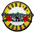 Guns N Roses Rock Band Logo Embroidered Decorative Patch For Jackets Jeans Bags