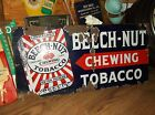 Vintage Porcelain Beech Nut Chewing Tobacco Sign