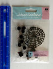Jolees Boutique SPIDER WEBS Dimensional Sticker Package With 7 Pieces