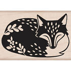 Hero Arts Mounted Rubber Stamp By Lia 2X125 Sleeping Fox