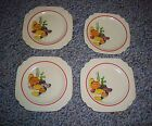 VINTAGE HOMER LAUGHLIN FIESTA MEXICANA THREE 6  ONE SAUCER