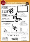 Unity Stamp Co January 2012 Heart and Soul Kit of Month Valentines Day Love