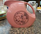 Fiestaware Fiesta Large pitcher MegaChina Rose