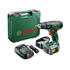 Bosch PSB 1800 LI-2 Cordless Combi Drill Kit with Two 18 V Lithium-Ion Battery