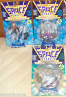 3 FIGURE SPACE MONKEYS VINTAGE 90 CAPTAIN SIMIANSPYDORRHESUS 2 monkeyscimmie