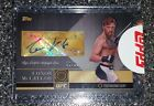 2016 Topps UFC Top of The Class Conor McGregor (SILVER) Auto Signed Card !!!