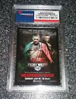 2015 Topps UFC Chronicles Conor McGregor (FIGHT POSTER) Auto Signed Card !!!
