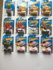 Hot Wheels 2016 HW Screentime series 1-10 has 12 cars Excellent condition!!!