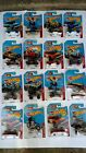 Hot Wheels 2015 Daredevil series has 19 cars excellent condition!!!