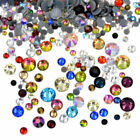 Best Quality Hotfix Crystal Rhinestones Flatback Nail Art Mixed Size Multi Color