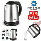 2.0 Liter Electric Kettle Hot Water Pot Portable Boiler Stainless Steel Coffee