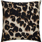 Bloomsbury Market Purti Cheetah Watercolor Square Throw Pillow