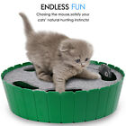 Pawaboo Pet Teasing Electronic Toy Hide And Seek Interactive Cat Toy Mouse Hunt