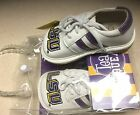 LSU Tigers Team Squeaks Toddler Squeaker Shoes NWT Size 4 has blemish on toe
