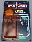 Star Wars PotF The Emperor w Special Collectors Coin Unpunched Card Kenner 84