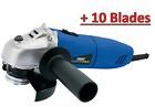 DRAPER STORM FORCE® 115MM ANGLE GRINDER (500W) + 10 Blades