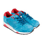 Diadora S8000 Italia Mens Blue Suede Athletic Lace Up Running Shoes