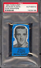 1960-61 PARKHURST HOCKEY Jacques Plante Gum Wax wrappers Graded psa Authentic
