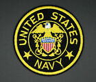 US NAVY EMBLEM PATCH US NAVY EMBROIDERED LOGO PATCH INSIGNIA 3 USNAVY 259