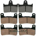 for Suzuki GSX-R600 GSXR600 GSX-R600X 2004 2005 Front & Rear Brake Pads