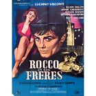 ROCCO AND HIS BROTHERS Movie Poster 47x63 in  1960 Luchino Visconti Alain