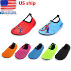 US Kids Children Swimming Pool Beach Shoes Non Slip Ankle Socks Water Shoes Size